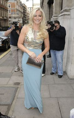 bf8dcd0a43 Michelle Mone wakes up after Butterfly Ball with her gown still on