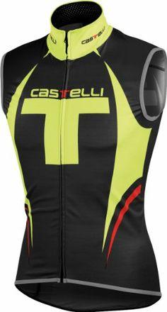 Castelli Free Vest Black/Yellow Fluo, S - Men's - http://ridingjerseys.com/castelli-free-vest-blackyellow-fluo-s-mens/