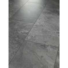 SMARTCORE 10-Piece 12-in x 24-in Chatham Stone Locking Luxury Vinyl Tile at Lowes.com Laminate Tile Flooring, Vinyl Flooring Bathroom, Luxury Vinyl Tile Flooring, Bathroom Vinyl, Kitchen Vinyl, Luxury Vinyl Plank, Kitchen Flooring, Grey Vinyl Plank Flooring, Grey Bathroom Floor
