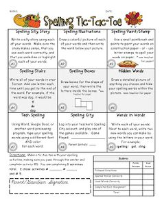 tic tac toe homework template - 1000 images about word work ideas on pinterest word