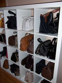 Good Purse Storage Ideas | Purse Storage Idea | Ideas For The Home |  Cleaning/Organizing | Pinterest | Purse Storage, Storage Ideas And Purse