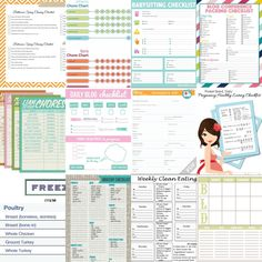 printable-checklists from Reasons to Skip the Housework #printables #checklists