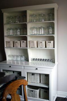 Liatorp, Ikea, Shabby Home, Coffee Corner, Space Crafts, Kitchen Design, Kitchen Ideas, China Cabinet, Shelving