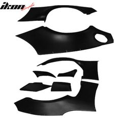 Fits 12+ Scion FRS Subaru BRZ GR Style Rocket Bunny Fender Flare Cover- ABS