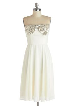 White Tie Optional Dress, #ModCloth. Add a little sparkle to your life with this dress.