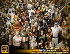 *PIN to WIN* Help us break a Guinness World Record at #SLCC15! Largest Gathering of ComicBook Characters! #utah