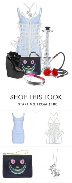"""""""Alice 2090 AD"""" by darksyngr ❤ liked on Polyvore featuring Velvet by Graham & Spencer, CHROMAT, Yarnz, Casadei, Origami Jewellery, Timex, contest, disney and aliceinwonderland"""