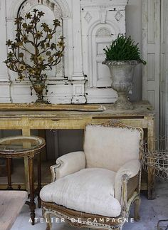 Rustic and romantic details