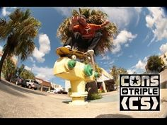 Converse Triple C's: Downtown St Pete - http://DAILYSKATETUBE.COM/converse-triple-cs-downtown-st-pete/ - We rounded up the squad for another CONS Triple C's session, this time across the bridge into Downtown St. Pete. Derick Wynn, Jack Loktu and special guest Jimmy Mastrocolo test out the new Converse Sage Elsesser CTAS Pro Hi's.  Video: Frank Branca Source: https://www.youtube.com/watch?v=hmSyrCXvI0c - converse, downtown, pete, triple
