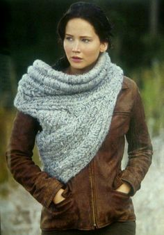 """Jennifer Lawrence as Katniss Everdeen in """"The Hunger Games"""" series"""