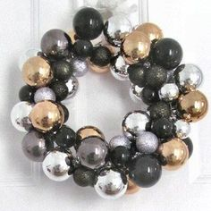 I absolutely love bauble wreaths and they are so simple to make! I actually already have two perfectly good wreaths that I've created fo...