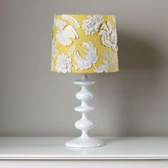 Corsage Table Shade for the baby's room!
