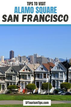 Are you looking for the perfect spot to photography our colorful Painted Ladies of Alamo Square? Find everything you need to visit this local district as well as how to get the best photos of the popular Seven Sisters. #alamosquare #paintedladies #sanfranciscothingstodo San Francisco Attractions, San Francisco Neighborhoods, Great Places, Places To Go, Alamo Square, San Francisco Photography, Top Tours, Painted Ladies, Woman Painting