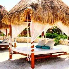 Camas movibles para playa
