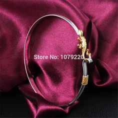 Lizard Golden Hot Lady Bracelet Women Girl Fashion 925 Sterling Silver Bangle Jewelry Party Wedding Creative Christmas Gift-in Bangles from Jewelry & Accessories on Aliexpress.com | Alibaba Group