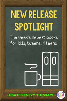 Need a way to keep up with the newest book releases for kids, tweens, and teens? This weekly analysis is perfect for school librarians and teachers who want to stay on top of the newest YA, middle grade, and picture books available for our students. A new list is published every Tuesday!  #mrsreaderpants #newreleasespotlight #books Library Skills, Library Books, New Books, Library Ideas, Social Studies Notebook, Teaching Social Studies, History Education, Teaching History, School Librarian