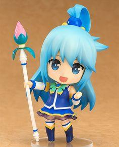 Kono+Subarashii+Sekai+ni+Shukufuku+o!+figurine+Nendoroid+Aqua+Good+Smile+Company