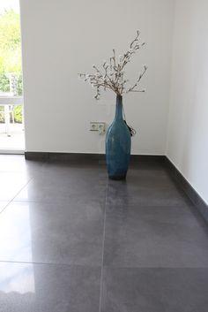 Anpolierte Bodenfliesen Im Großformat #Keraben #Future #Neubau #Wohnzimmer # Bodenfliesen #Fliesen