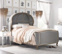 Anyone will feel like a prince or princess when they sleep in the Versailles Bed (from $3199).   Image Sour...