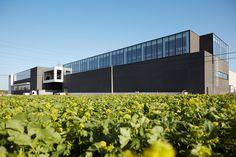 Eliet #Stadsbader #Building #logistics Building Department, School Building, Warehouse, Blinds, Modern, Home Decor, Trendy Tree, Decoration Home, Room Decor