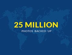 A very Proud Moment & milestone for us - 25 Million Photos Backed Up with PicBackMan