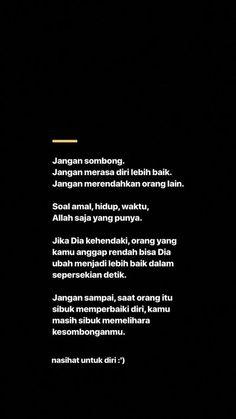 New Quotes Indonesia Motivation So True Ideas New Quotes, Mood Quotes, Faith Quotes, Motivational Quotes, Life Quotes, Funny Quotes, Morning Quotes, Reminder Quotes, Self Reminder