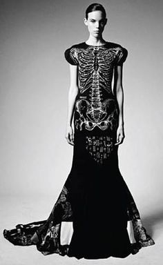 Couture Skeleton Dress by Ziad Ghanem