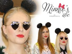 Love this early Minnie Mouse runway interview featuring Mercura Art Sunglasses and discussing Pink Magnolia
