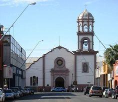 Mexicali, Baja California, Mexico (across the border from Calexico, California, USA).