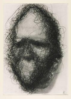 Arnulf Rainer-Untitled (Death Masks)(1978)