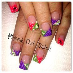 Check out Pinked Out Salon on FB!!  #nails #nailart.