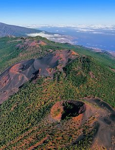 Volcano of Cumbre Vieja, Isla de La Palma, Canary Islands, Spain