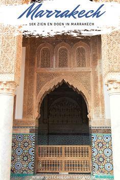 Zien en doen in Marrakech - Dutchie on the Road Marrakech, All Over The World, Travel Inspiration, Taj Mahal, The Road, Beautiful Places, Saint Laurent, Hotels, Calm