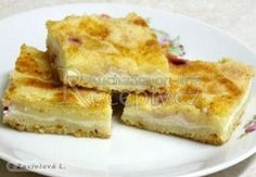Švédský koláč Something Sweet, Apple Pie, Quiche, French Toast, Food And Drink, Cookies, Baking, Breakfast, Recipes