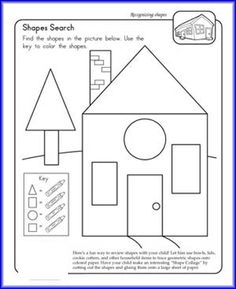 Shape Search Worksheet