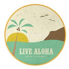 Live Aloha: Ashley Johnston Design x Lucky We Live Hawaii Aloha Hawaii, Hawaii Life, Hawaii Quotes, Palm Tree Drawing, Aloha Spirit, Aloha Friday, Hawaiian Art, Vintage Hawaii, Tropical Art