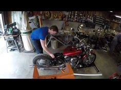 Father & Son Motorcycle Rebuild!