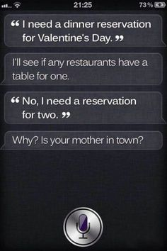 Pin for Later: 13 Times Siri Got So Sassy, It Hurt  Ouch.  Source: Reddit user MossmanIII via Imgur