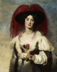 Julia, Lady Peel - Thomas Lawrence - 1827