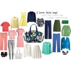 Fall capsule wardrobe.  I love this Dooney & Bourke bag!