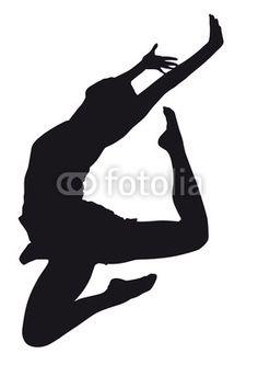hip hop girl dancing silhouette - Google Search
