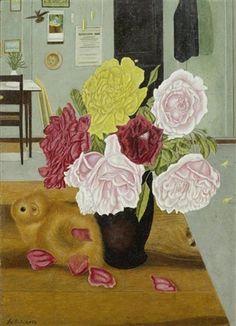 View Rosenstrauss mit Meerschweinchen by Adolf Dietrich on artnet. Browse upcoming and past auction lots by Adolf Dietrich. Naive, Rose Bouquet, Guinea Pigs, Flower Art, Still Life, Gallery, Artwork, Artist, Flowers