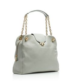 Oh, Tory! You should't have... Introducing the Megan Satchel in Peruvian Opal