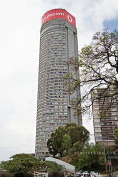 Ponte City is a skyscraper in the Hillbrow neighbourhood of Johannesburg, South Africa. built in The building is cylindrical, with an open center allowing additional light into the apartments. End Of Apartheid, Crime Rate, Tower Block, Thing 1, Interesting Stories, Afrikaans, Contemporary Architecture, Old World