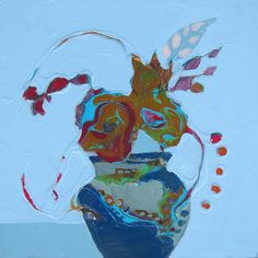 Blue Still Life 2...judy thorley