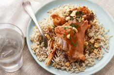 Slow-Cooker Thai Chicken Thighs recipe