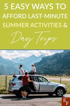 Having a plan in place to affording summer fun is the key to a great Summer. We've highlighted 5 easy ways to help make it happen. Summer Is Here, Summer Days, Summer Fun, Free Activities, Summer Activities, 5 Things, Things To Sell, Activity Days, Last Minute