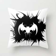 BAT Throw Pillow by Robleedesigns - $20.00