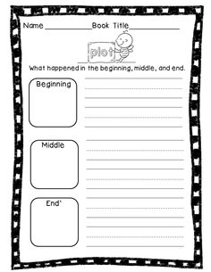 Teach story elements! Includes mini-posters and printables.