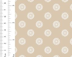Ginger Lily Studio Sanctuary: AS0086 cw 01 Stippling, Basket Weaving, Daisy, Cotton Fabric, Delicate, African, Studio, Floral, Pattern